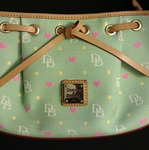 Dooney & Bourke like new bag seafoam green